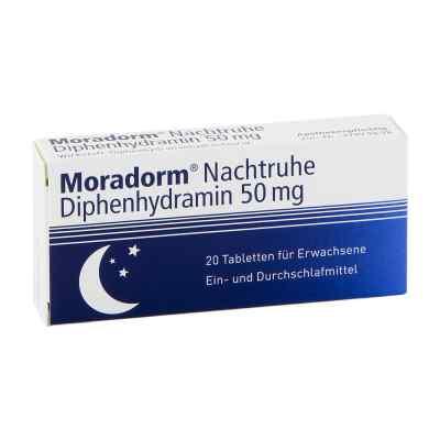 Moradorm Nachtruhe Diphenhydramin 50mg  bei Apotheke.de bestellen