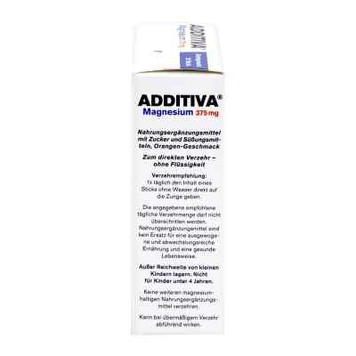 Additiva Magnesium 375 mg Sticks Orange  bei Apotheke.de bestellen
