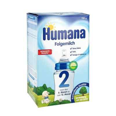 Humana Folgemilch 2 Gos Pulver  bei Apotheke.de bestellen