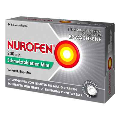 Nurofen 200 mg Schmelztabletten Mint  bei Apotheke.de bestellen