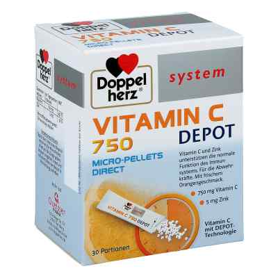 Doppelherz Vitamin C 750 Depot system Pellets  bei Apotheke.de bestellen