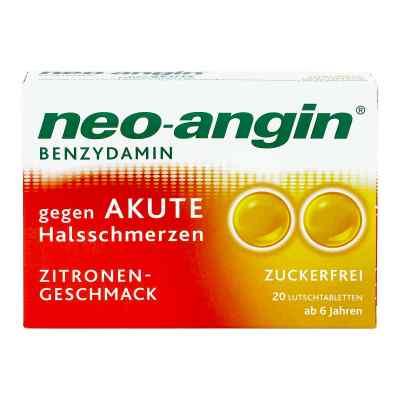 Neo Angin Benzydamin akute Halsschmerzen Zitrone  bei Apotheke.de bestellen