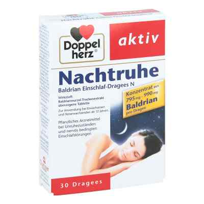 Doppelherz Nachtruhe Baldrian Einschlaf-Dragees N  bei Apotheke.de bestellen