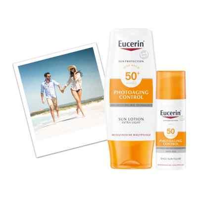 Eucerin Sun Photoaging Control Face CC Creme Mittel LSF 50+  bei Apotheke.de bestellen