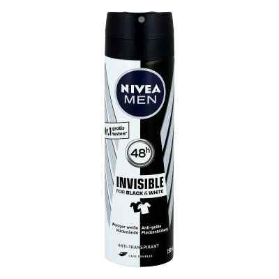 Nivea Men Deo Spray invisible black & white power  bei Apotheke.de bestellen