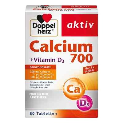 Doppelherz Calcium 700+vitamin D3 Tabletten  bei Apotheke.de bestellen