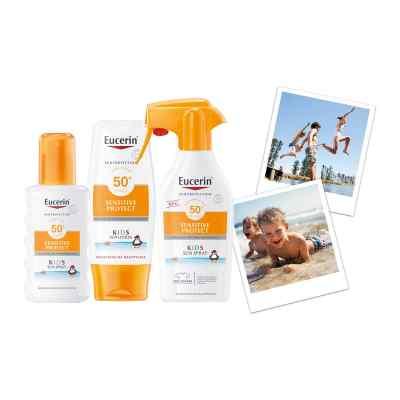 Eucerin Sun Sensitive Protect Kids Mineral Sun Lotion LSF 30  bei Apotheke.de bestellen