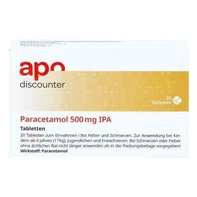Paracetamol 500mg von apo-discounter bei Fieber und Schmerzen  bei Apotheke.de bestellen