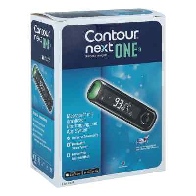 Contour Next One Blutzuckermessgerät Set mg/dl  bei Apotheke.de bestellen