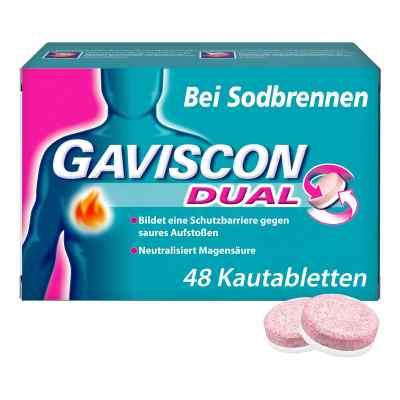GAVISCON Dual Kautabletten bei Sodbrennen  bei Apotheke.de bestellen