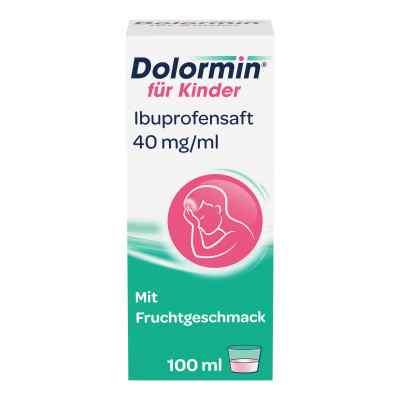 Dolormin für Kinder Ibuprofensaft 40mg/ml  bei Apotheke.de bestellen