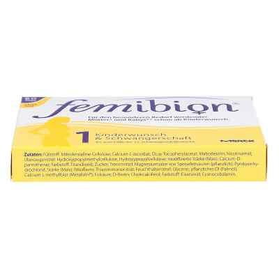 Femibion Schwangerschaft 1 D3+800 [my]g Folat ohne Jo  bei Apotheke.de bestellen