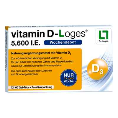 Vitamin D-loges 5.600 I.e. Kautablette (n) familienpackung  bei Apotheke.de bestellen