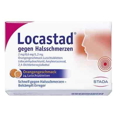 Locastad gegen Halsschmerzen 2mg/0,6mg/1,2mg Orange  bei Apotheke.de bestellen