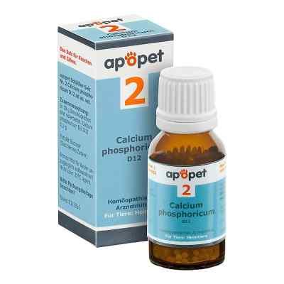 Apopet Schüssler-salz Nummer 2 Calcium phosphoricum D12 veterinä  bei Apotheke.de bestellen