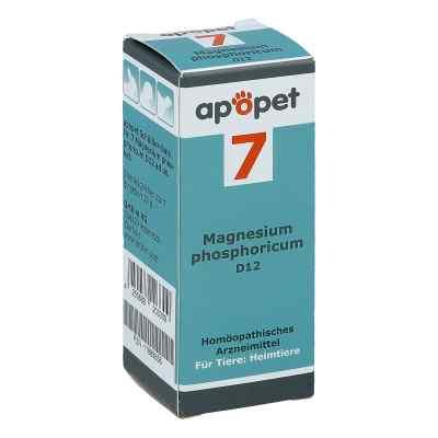 Apopet Schüssler-salz Nummer 7 Magnesium phosphoricum D12 vet  bei Apotheke.de bestellen