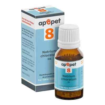 Apopet Schüssler-salz Nummer 8 Natrium chlor.D 6 veterinär  bei Apotheke.de bestellen