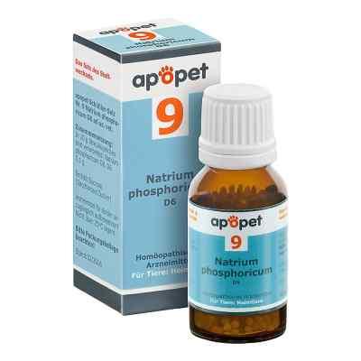 Apopet Schüssler-salz Nummer 9 Natrium phosphoricum D6 veterinär  bei Apotheke.de bestellen