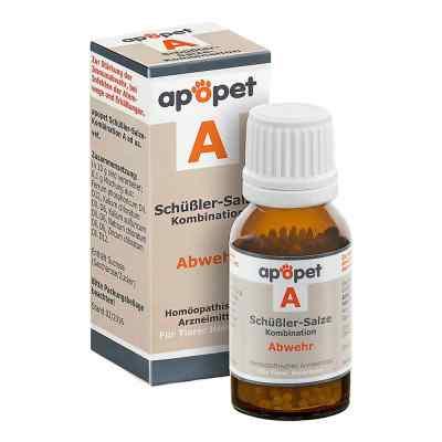 Apopet Schüssler-salze-kombination A ad usus vet.Gl.  bei Apotheke.de bestellen