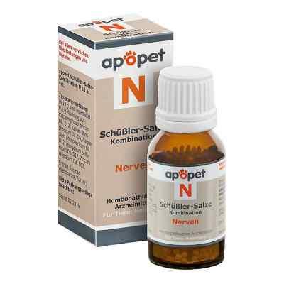 Apopet Schüssler-salze-kombination N ad usus vet.Gl.  bei Apotheke.de bestellen
