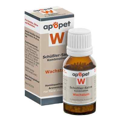Apopet Schüssler-salze-kombination W ad usus vet.Gl.  bei Apotheke.de bestellen