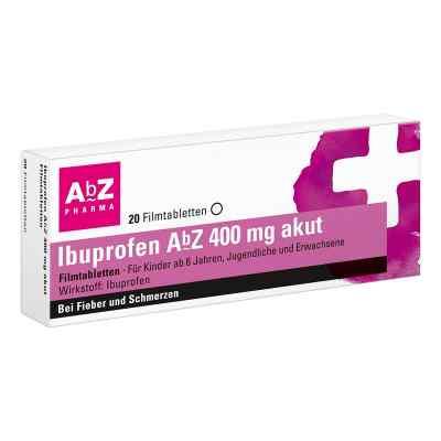 Ibuprofen AbZ 400mg akut  bei Apotheke.de bestellen