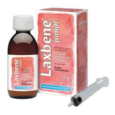Laxbene junior 500 mg/ml Lösung zur, zum Einn.Kdr.6M-8J  bei Apotheke.de bestellen
