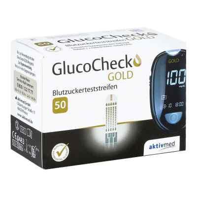 Gluco Check Gold Blutzuckerteststreifen  bei Apotheke.de bestellen