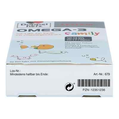 Doppelherz Omega-3 family Gel-tabs system Kautablette (n)  bei Apotheke.de bestellen