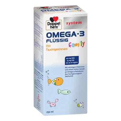 Doppelherz Omega-3 family flüssig system  bei Apotheke.de bestellen