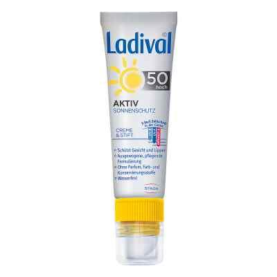 Ladival Aktiv Sonnenschutz für Gesicht und Lipp.LSF 50  bei Apotheke.de bestellen