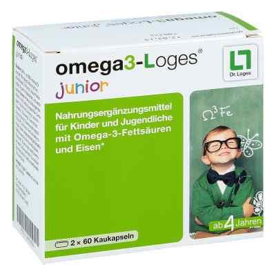 Omega 3-loges junior Kaudragees  bei Apotheke.de bestellen