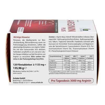 Arginin plus Vitamin B1+b6+b12+folsäure Filmtabletten  bei Apotheke.de bestellen