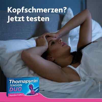Thomapyrin TENSION DUO 400mg/100mg mit Coffein & Ibuprofen  bei Apotheke.de bestellen