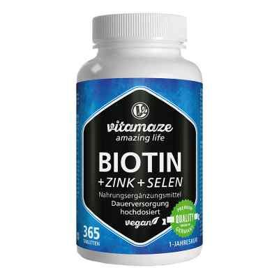 Vitamaze Biotin 10 mg hochdosiert+Zink+Selen  bei Apotheke.de bestellen