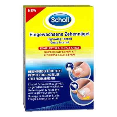 Scholl Eingewachsene Zehennägel Clips & Spray  bei Apotheke.de bestellen