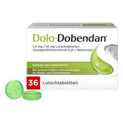 Dolo-dobendan 1,4 mg/10 mg Lutschtabletten  bei Apotheke.de bestellen