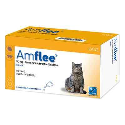 Amflee 50 mg Spot-on Lösung zur, zum Auftropfen für Katzen  bei Apotheke.de bestellen