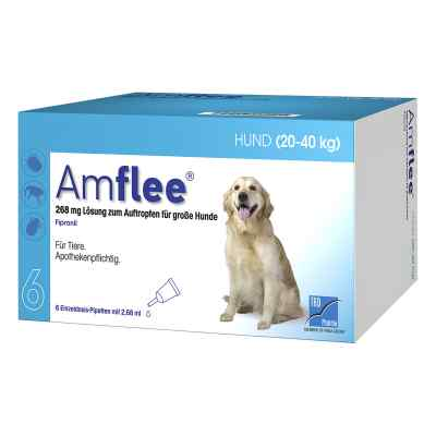 Amflee 268 mg Spot-on Lösung für grosse Hunde 20-40kg  bei Apotheke.de bestellen
