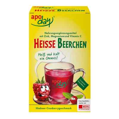 Apoday heisse Beerchen+vit.c+zink+magnesium Pulver  bei Apotheke.de bestellen