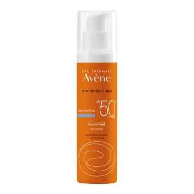 Avene Sunsitive Sonnenfluid Spf 50+ ohne Duftst.  bei Apotheke.de bestellen