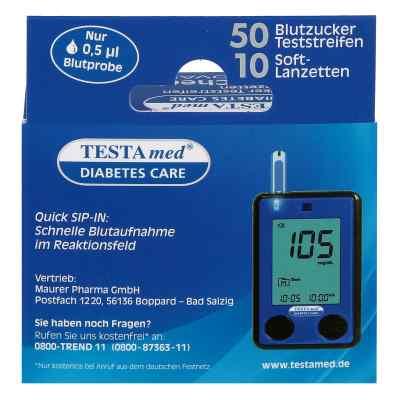 Testamed Glucocheck Advance Teststreif.m.10 Lanz.  bei Apotheke.de bestellen