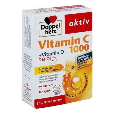 Doppelherz aktiv Vitamin C 1000+vitamin D Depot  bei Apotheke.de bestellen