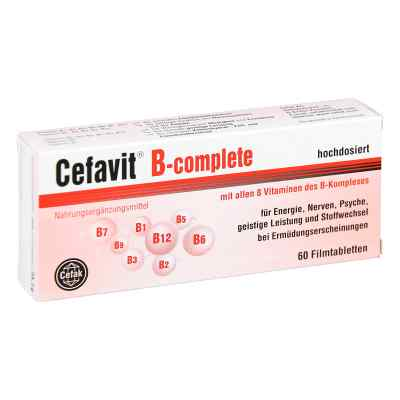 Cefavit B-complete Filmtabletten  bei Apotheke.de bestellen