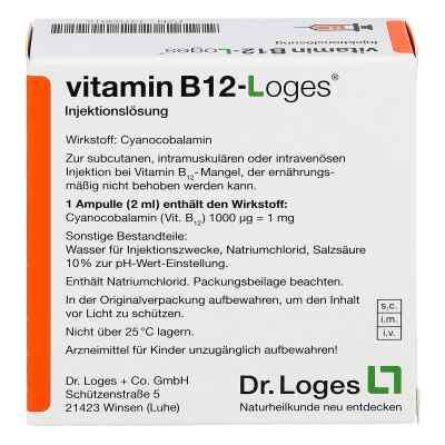 Vitamin B12-loges Injektionslösung Ampullen  bei Apotheke.de bestellen
