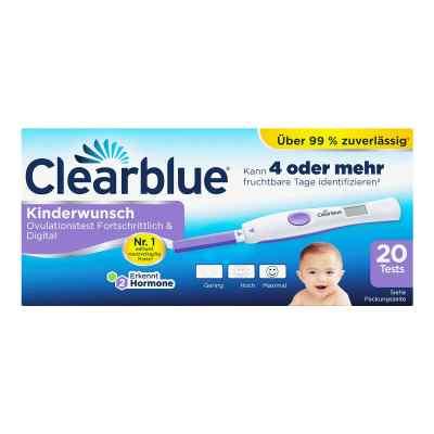 Clearblue Ovulationstest fortschrittlich & digital  bei Apotheke.de bestellen