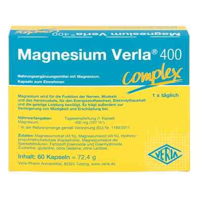 Magnesium Verla 400 Kapseln  bei Apotheke.de bestellen
