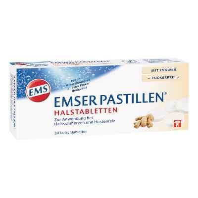Emser Pastillen Halstabletten mit Ingwer zuckerfrei  bei Apotheke.de bestellen