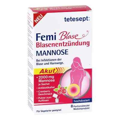 Tetesept Femi Blase Blasenentzündung Mannose Beutel  bei Apotheke.de bestellen