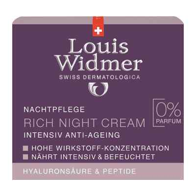 Widmer Rich Night Cream unparfümiert  bei Apotheke.de bestellen
